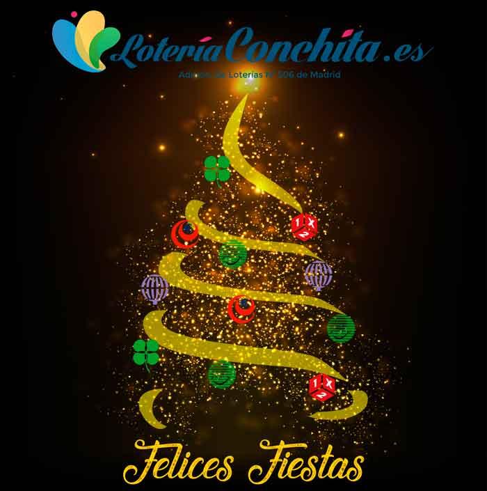 Lotería Conchita te desea Feliz Navidad